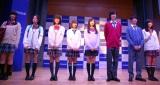 CONOMi「最新制服ファッションショー」に登場したモデルたち (C)ORICON NewS inc.