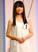 審査員特別賞に選ばれた15歳の川上桃子さん (C)ORICON DD inc.