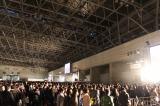 『闘会議2015』当日の朝、開場を待ちわびる人たち。2日間で約3万5000人が来場した