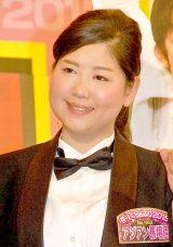 『R-1ぐらんぷり2015』決勝進出者発表会見に出席したアジアン・馬場園梓 (C)ORICON NewS inc.