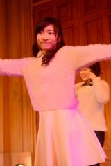 デビュー曲「BUMP!!」発売記念イベントを行ったLa PomPonのKAREN
