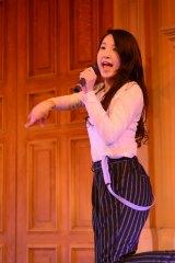 デビュー曲「BUMP!!」発売記念イベントを行ったLa PomPonのMISAKI