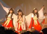 ライブで盛り上げる虹のコンキスタドール (C)ORICON NewS inc.
