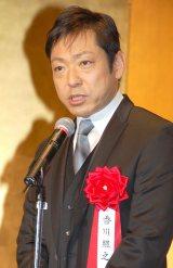 『2014年エランドール賞』に『半沢直樹』が選出され、お祝いに駆けつけた香川照之 (C)ORICON NewS inc.