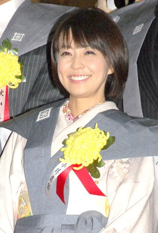 池上本願寺で行われた節分追儺式に出席した小林麻耶 (C)ORICON NewS inc.