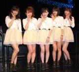 Juice=Juice(左から)宮崎由加、高木紗友希、宮本佳林、金澤朋子、植村あかり (C)ORICON NewS inc.