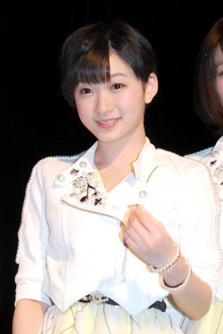 Juice=Juice・宮本佳林=「ファーストライブツアー 2014〜2015 News=News〜各地よりお届けします!〜」東京公演前取材会 (C)ORICON NewS inc.
