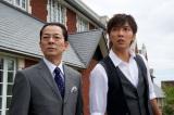 『相棒season11』の杉下右京(左)と甲斐享(右)(C)テレビ朝日