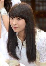 アンジュルムの新曲「大器晩成/乙女の逆襲」のヒット祈願に参加した福田花音 (C)ORICON NewS inc.