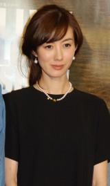 NHK特集ドラマ『LIVE! LOVE! SING! 生きて愛して歌うこと』記者会見に出席したともさかりえ (C)ORICON NewS inc.