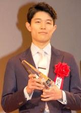 新人賞を受賞した鈴木亮平=『2015年エランドール賞』授賞式 (C)ORICON NewS inc.