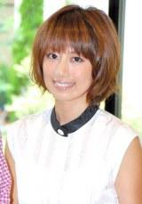 ブログで双子の妊娠を報告した東原亜希 (C)ORICON NewS inc.