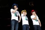 一夜限定ユニット「寺田和義」(左から奥田民生、斉藤和義、寺岡呼人 PHOTO:ほりたよしか