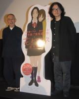 映画『花とアリス』のトークショーに出席した鈴木敏夫氏(左)と岩井俊二氏 (C)ORICON NewS inc.
