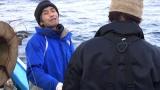 番組が13年間に渡って追い続けてきた山本秀勝さん。テレビ朝日系『マグロに賭けた男たち2015 極寒の死闘!息子よ これが男の勝負だSP』2月8日放送(C)テレビ朝日