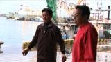 舌がん闘病から復活した漁師・米澤勝則さん。テレビ朝日系『マグロに賭けた男たち2015 極寒の死闘!息子よ これが男の勝負だSP』2月8日放送(C)テレビ朝日