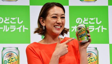 サムネイル キリンビールの新商品CM発表会に登場したタレントのSHELLY (C)oricon ME inc.