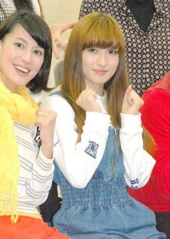 ミュージカル『ウィズ〜オズの魔法使い〜』の会見に出席した梅田彩佳 (C)ORICON NewS inc.