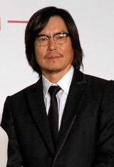 映画「娚の一生」先行上映イベントに出席した豊川悦司