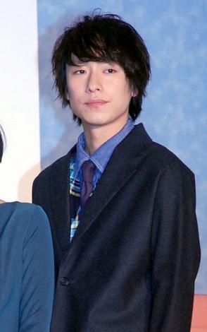 映画「娚の一生」先行上映イベントに出席した落合モトキ