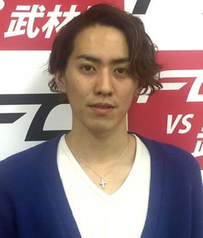 新格闘技イベント『FG』の公式サポーターに決定した田中彪