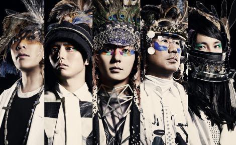 4月8日に1stアルバムを発表するTHE TURTLES JAPAN(写真左からSAKAI、JINGUJI、YAMAMURA、KAMEDA、ISOGAI)