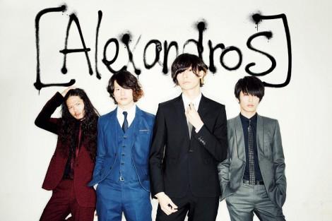 スーツ姿のAlexandros