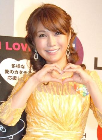 ラッシュジャパン『WE BELIEVE IN LOVE キャンペーン』に出席したはるな愛 (C)ORICON NewS inc.