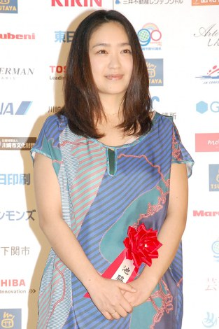 『第69回毎日映画コンクール』オープニングセレモニーに出席した池脇千鶴 (C)ORICON NewS inc.