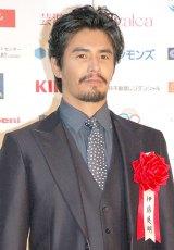 『第69回毎日映画コンクール』オープニングセレモニーに出席した伊藤英明 (C)ORICON NewS inc.