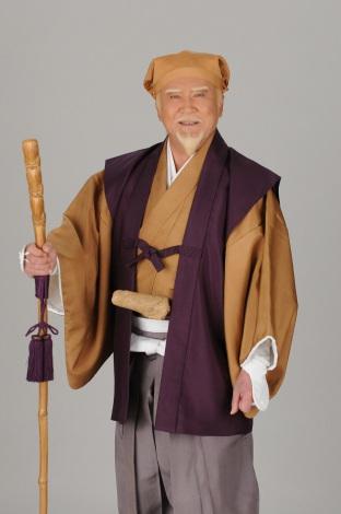 『水戸黄門』で五代目徳川光圀を演じる里見浩太朗 (C)TBS