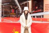 第65回ベルリン国際映画祭に出席のために訪れたベルリンを観光する橋本愛
