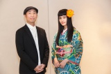 (左から)第65回ベルリン国際映画祭に出席した森淳一監督、橋本愛