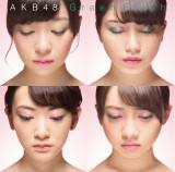 AKB48「Green Flash」初回盤Type-N(左上から時計回りに指原莉乃、横山由依、木崎ゆりあ、生駒里奈)