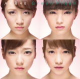 AKB48「Green Flash」通常盤Type-S(左上から時計回りに高橋みなみ、山本彩、川栄李奈、島崎遥香