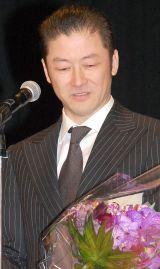『第57回ブルーリボン賞』の主演男優賞を受賞し、涙を流して感謝を伝えた浅野忠信 (C)ORICON NewS inc.