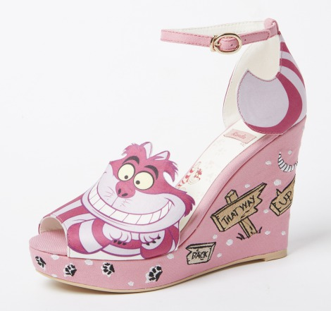 「Cheshire cat wedges(AS4260)」12900円 ※11店舗限定アイテム(C)Disney