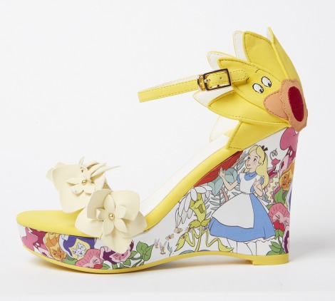 「Singing flower wedges(AS4258)」 12900円 ※11店舗限定アイテム(C)Disney
