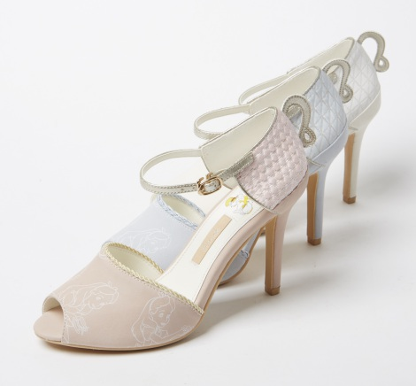 「Tea cup peep toe sandals(AS4238)」8900円(C)Disney