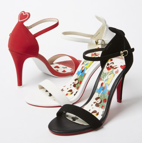 「Playing card suits wedges (AS4239)」10900円(C)Disney