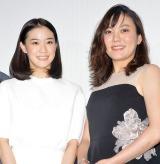 プライベートでの仲の良さをみせた(左から)蒼井優、鈴木杏 (C)ORICON NewS inc.