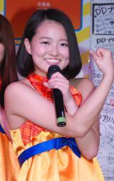 デビューシングル「一大告白タイム」発売記念イベントに出席した橘ゆの (C)ORICON NewS inc.