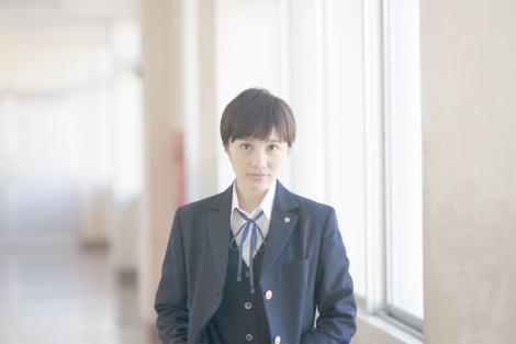 ももいろクローバーZの百田夏菜子(撮影:新津保建秀)