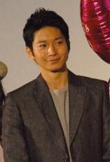映画『娚の一生』初日舞台あいさつに登壇した向井理 (C)ORICON NewS inc.