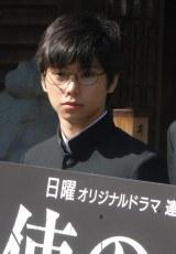 WOWOWのドラマ『天使のナイフ』で主人公の妻を殺害した少年を演じる村上虹郎 (C)ORICON NewS inc.