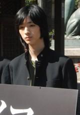 WOWOWのドラマ『天使のナイフ』で主人公の妻を殺害した少年を演じる清水尋也 (C)ORICON NewS inc.