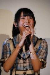 ドキュメンタリー映画『アイドルの涙 DOCUMENTARY of SKE48』完成披露舞台あいさつに登壇した惣田紗莉渚 (C)ORICON NewS inc.