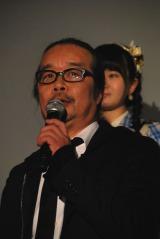 ドキュメンタリー映画『アイドルの涙 DOCUMENTARY of SKE48』完成披露舞台あいさつに登壇した石原真監督 (C)ORICON NewS inc.