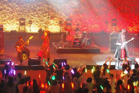 『Coming Next 2015』に出演したカスタマイZ (C)ORICON NewS inc.