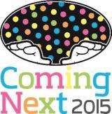 初開催された『Coming Next 2015』ロゴ